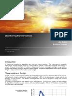 Weathering Fundamentals