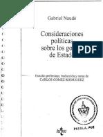 Consideraciones politicas sobre los golpes de estado - Gabriel Naudé.pdf
