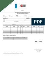 Ficha de Inscripción Anexo Nº 1 Bases