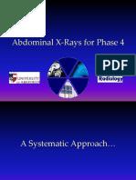 Abdominal X-Ray