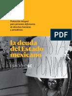La deuda del Estado mexicano