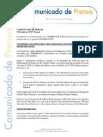Comunicado Formato Fiscalía 25-07-2017