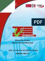 Manual Personal Municipal