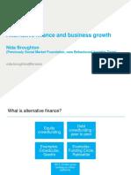 Nida Broughton Alternative Finance Business Growth. Updated
