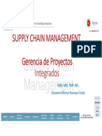SUPPLY CHAIN MANAGEMENT Gerencia de Proyectos Integrales Giovanni Alfonso Huanqui Canto Oxford Group