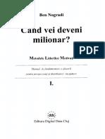 Cand Vei Deveni Milionar - Ben Nogradi