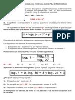 Algebra, Logaritmos Inecuaciones