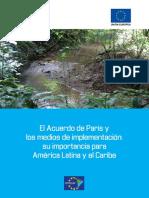 Acuerdo de París-Medios de Implementación en ALC Estudio 3