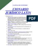 Diccionario Latin - O