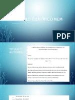 Articulo Científico NEM