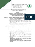 SK Peraturan Internal Pkm KupA2