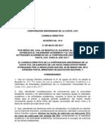 Acuerdo CD 1014 Por Medio Del Cual Se Modifica El Calendario Academico y...