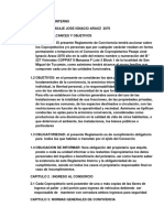 Reglamento Interno Del Coppiatt
