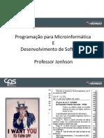 ProgMic- Prof. Jonhson - VistaP1