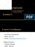 CSE5ANE Introduction