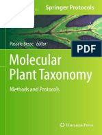 (Methods in Molecular Biology 1115) Germinal Rouhan, Myriam Gaudeul (Auth.), Pascale Besse (Eds.)-Molecular Plant Taxonomy_ Methods and Protocols-Humana Press (2014)