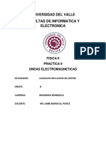 Trabajo de Investigacion de ondas electromagnetica