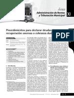Deudas Cobranza Dudosa 022-200-Ef
