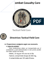 9.Tactical Field Care. v Analgesia.antibióticos