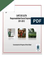Informe RSE Cafe Eleta 2011-2012 Final Aranda