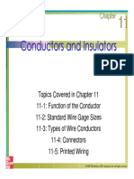 Buildinfg Services-conductor and Insulator
