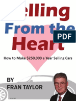 Fran Taylor Techniques Salesman Book 3-2015 Bought 13may2016
