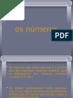 a origem dos numeros