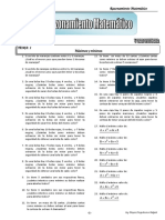 Razonamiento Matematico - 5TO Año - IV Bimestre - 2014