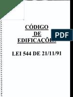 Código de Edificações de Trindade - go