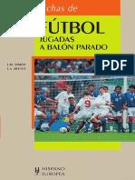Fichas de fútbol. Jugadas a balón parado.pdf