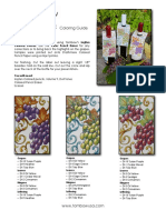 Wine Bottle Tags Coloring Guide