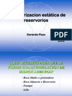 Caracterización Estática de Reservorios