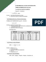 Evaluación Preliminar en Prospectos