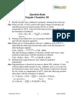 Organic Chem III X ICSE