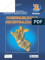 Modulo II - Gobernabilidad y Descentralizacion