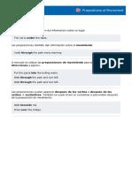 11- Preposiciones de Movimiento - Inglés A12