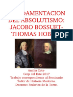Hobbes Y Bossuet