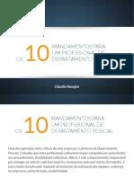 eBook 10 Mandamentos Para Um Profissional de DP