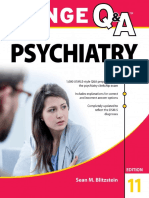 Lange Q&A Psychiatry 11E