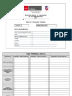 Registro Oficial de Evaluación de Los Aprendizajes 2017 Nivel de Educación Primaria-me