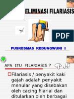 Materi  Filariasis ( Kaki Gajah ).ppt