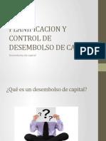 Planificacion y Control de Desembolso de Capital