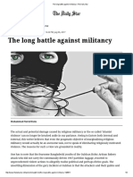 The Long Battle Against Militancy _ the Daily Star
