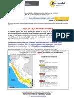 SENAMHI - Aviso 99_Precipitaciones en La Sierra