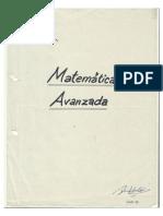 matematica avanzada