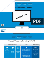 S4HANA Best Practices Content Tour