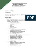 laporan pelatihan PPGDON