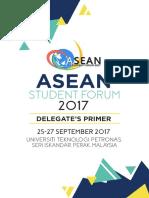 ASEAN Student Forum 2017 Delegate Premier