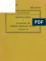 Handbook on German Military Forces Text