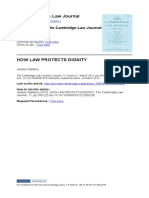 Jeremy Waldron - How Law Protects Dignity.pdf